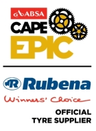 "RUBENA became the only ""Official Tyres Supplier"" of the South African ""CAPE EPIC"""